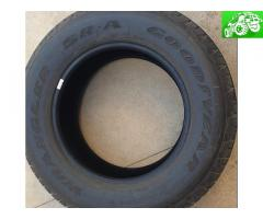 (4) - 265/65/r18 Goodyear tires