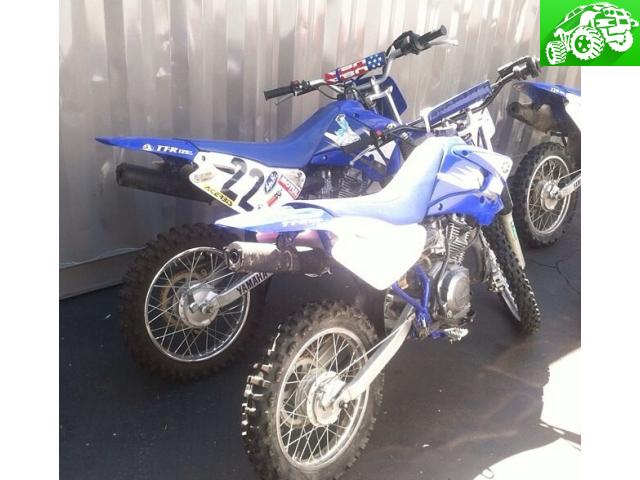 2 - 2006 ttr 125's for sale
