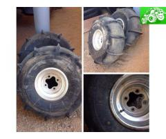 Honda 4x110 wheels and paddle tires