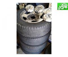 Stock f150 rims & tires