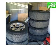 Dodge ram 2500/3500 wheels and tires