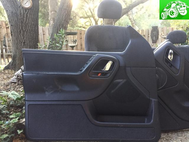 2000 ZJ interior. Complete. Perfect condition. Black