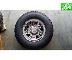 4 235/75/15 Goodyear Wrangler on factory Mountaineer wheels