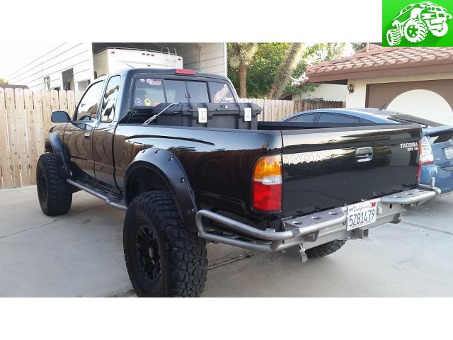 All Pro rear bumper 95-04 tacoma