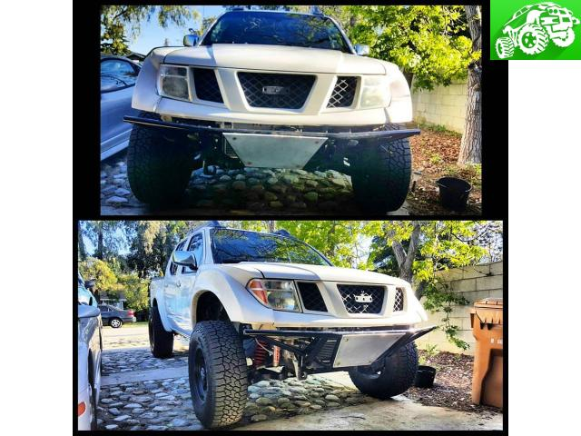 2005+ Nissan Frontier prerunner style bumpers and custom