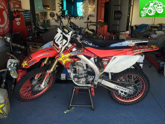 For sale Honda TRX450&CRF450