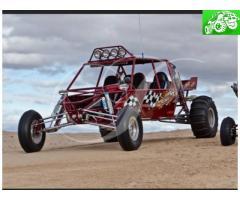Long travel sand car