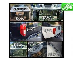 Custom Offroad Fabrication! Bumpers, rock sliders and more!