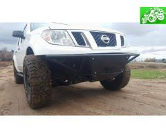 Winch-capable prerunner style front bumper, ready to go!