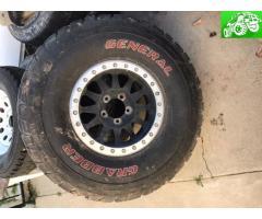 37x12.50-17 general on Method wheel