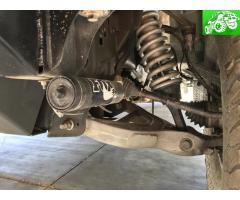 Ford raptor fox shocks and tire rack