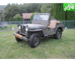 1951 Willy's CJ-3A Jeep (Civilian / M-38 Military Clone)