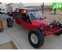 4 seater long travel sand car