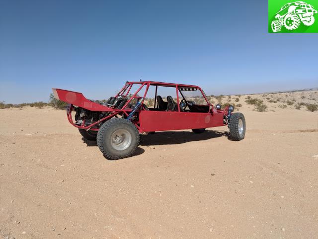 4 seater long travel sand car Joshua tree - Off Road