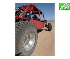 4 seater long travel sand car