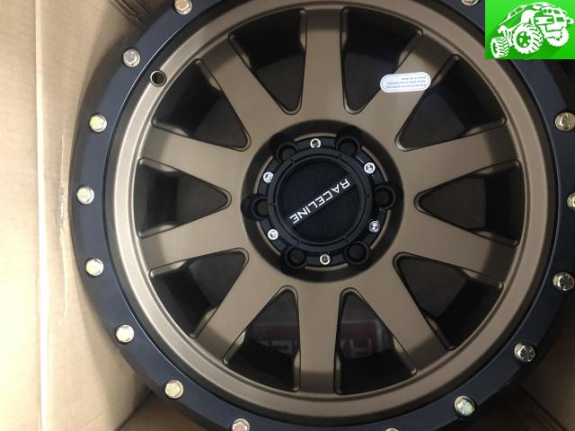 17x8.5 raceline rims brand new