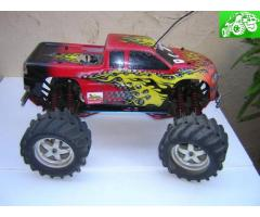 RC Nitro Traxxas Monster Truck 4x4