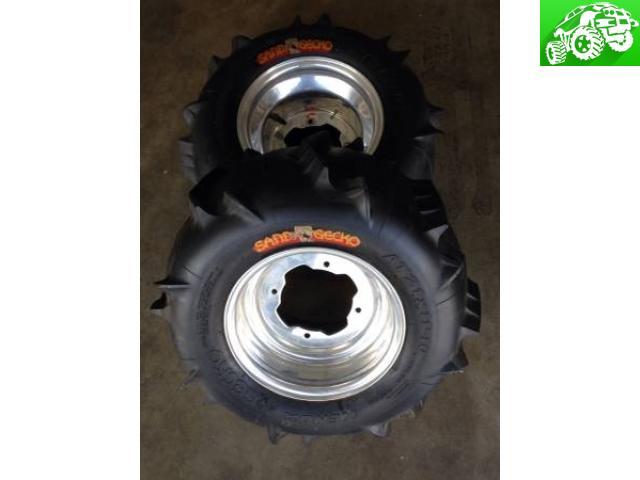 ATV paddle tires