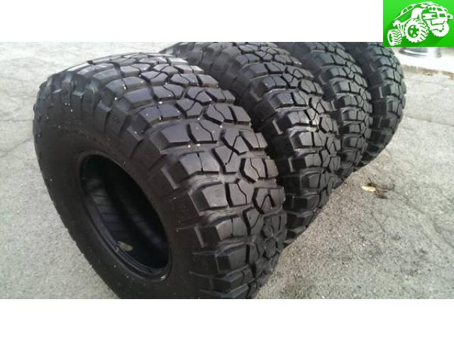 33x12 50x15 Bfgoodrich Mud Terrain Tires San Jacinto Off Road