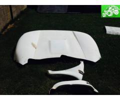 Toyota fiberglass clip & bedsides