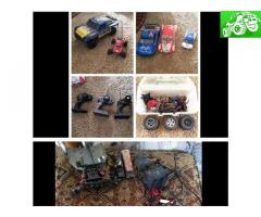 Traxxas Slash and Losi Mini-Desert Truck