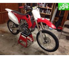 2009 Honda CRF450R FI *Clean Title in hand* <10 hours on top end