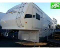 37 ft 5th wheel with garage