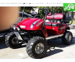 Off Road 2000 EZ Go Golf Cart