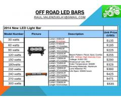 OFF ROAD LED BARS