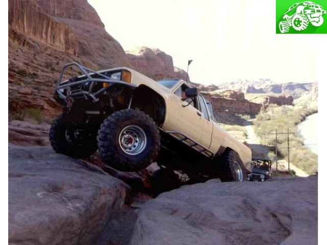 BALLS OF STEEL BUILT 1984 Toyota Mini Truck For Rock Crawling ...
