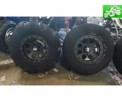 Polaris Ranger RZR 1000 sand tire kit.