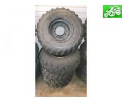 Steel wheels/tires Polaris