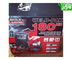 Lincoln electric 180hd welder